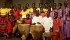 1st Mwangaza Choir - 2004 USA  Saw them at St. John's, sponsored Ninye John