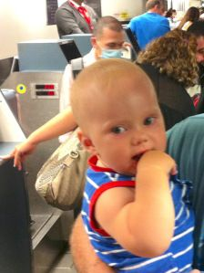 Taking a Baby to Costa Rica: Part 2- Airport Maze Maneuvering (international travel with a baby, yikes!)