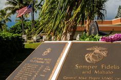 A ceremony was held to rededicate the Marine Memorial at the USS ARIZONA Education Center in Honolulu, Hawaii ... Families, friends and military service members came to Pearl Harbor to view the bronze plaques commemorating the 73 valiant U.S. Marines who made the ultimate sacrifice and their 15 brothers who survived the attack on the battleship USS ARIZONA.