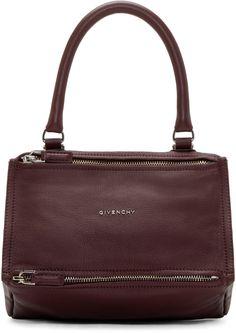 Givenchy: Oxblood Small Pandora Bag