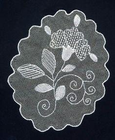 Lace Patterns, Embroidery Patterns, Hand Embroidery, Needle Lace, Bobbin Lace, Lace Drawing, Romanian Lace, Lace Design, Crochet Lace