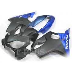 Aftermarket Fairings For Honda CBR600F4i 04-07  black and blue ABS Kits 2005 2006