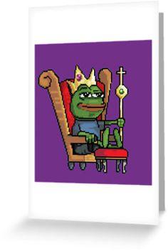 Pepe the Frog King