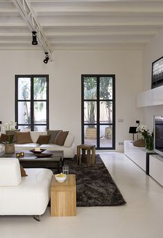 an apartment in barcelona by the style files, via Flickr