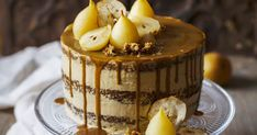 Spiced Pear and Sweet Potato Cake with Muscovado Frosting - The Kate Tin Cupcake Recipes, Cupcake Cakes, Dessert Recipes, Pear Recipes, Sweet Recipes, Spiced Pear, Pear Cake, Cake Recipes From Scratch, Potato Cakes