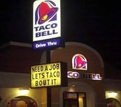 Well played, Taco Bell