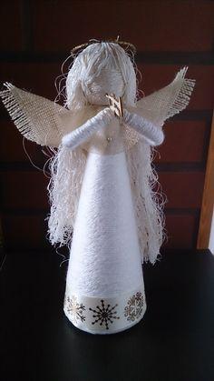 Handmade Christmas, Christmas Crafts, Christmas Decorations, Christmas Ornaments, Christmas Angels, Xmas, Angel Ornaments, Tree Toppers, Advent