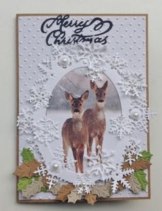 .Annemarie's Kaarten Crafters Companion Cards, 3d Cards, Marianne Design, Creative Cards, Cardmaking, Postcards, Stampin Up, Christmas Cards, Moose Art