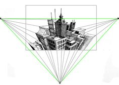 Here is a great tutorial to help you understand the basics of three-point perspective.