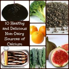 10 Healthy and Delicious Non-dairy Sources of Calcium #wellness