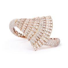 Ventaglio Collection bracelet by de Grisogono