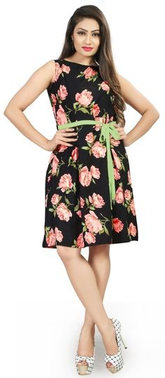 Buy Trendy Crepe Fabric Floral Printed Knee-Length Western Dress For Women Online at Low prices in India on Winsant, India fastest online shopping website. Shop Online for Trendy Crepe Fabric Floral Printed Knee-Length Western Dress For Women only at Winsant.com. COD facility available. #westernfashion #westernwear #westerndresses #dresses #dressoutfits #dressesforwomen #fashion #style #love #outfits #ootd #onlineshopping #shopnow #pinterest #pinterestmarketing #offers #trending #trendy Western Dresses For Women, Crepe Fabric, Lingerie Sleepwear, Mannequin, Women Lingerie, Party Wear, Dress Outfits, Paisley, Wrap Dress