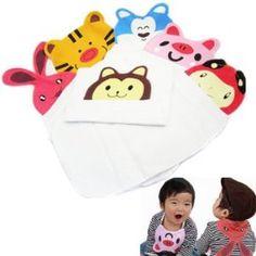 KF Baby Animal Sweat Towel, Set of 6