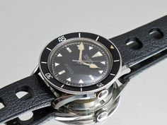 NOS Gruen Precision vintage diver from the 50's