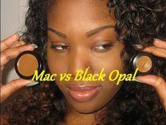 Mac Vs. Black Opal Concealer...DUPE WORTHY??? - YouTube
