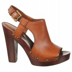 love the buttery leather on these and the manageable heel height
