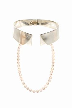 Delfina Delettrez - Collar Shirt Necklace...........obsessed with this.