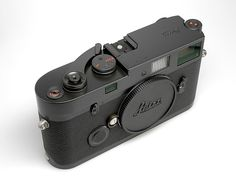 """Leica MP """"Blue Stain"""" limited edition camera 