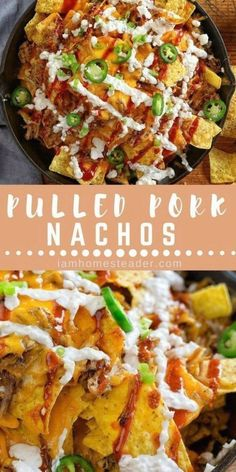 Looking for a Easy Nachos Recipes  Make this Pulled Pork Nachos  These Pulled Po...  My Pins Looking for a Easy Nachos Recipes  Make this Pulled Pork Nachos  These Pulled Pork Nachos are an appetizer favorite around here  besides that they are packed with flavor and pull together in minutes   familyfavorites  nachos  appetizers  easyrecipe # Pulled Pork Nachos, Low Carb Ketchup, Vegetable Pizza, Food To Make, Easy Meals, Appetizers, Dinner, Ethnic Recipes, Collections