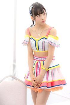 小栗有以! Japan Girl, Manga Art, Two Piece Skirt Set, Idol, Japanese, Kawaii, Summer Dresses, Cosplay, Costumes