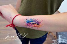 Tatuaje de/Tattooed by @javiwolfink Agenda cerrada hasta nuevo aviso / Bookings closed until further notice. For great tattoos don't forget to visit: www.inkspirationworld.com
