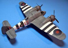 "Bristol Beaufighter TF.X NE355, EE-H, 404 ""Buffalo"" Squadron, RCAF RAF Coastal Command, Banff, Scotland, June 1944"