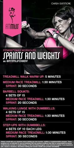 Sprints and Weights #FitMiss