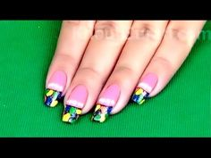 #NailCare #NailArtDesign #ColorfulNailArt  Get stylish in an instant and pull off a great fashionable trend with this cool and contemporary nail art. Made in few easy steps and taking just few minutes, this nail art transforms your looks into that of a urban diva. Always stay trendy and hot by trying this exquisite nail art today.  See Video:- https://www.youtube.com/watch?v=Qfpq-R7bmGk