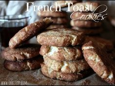 French Toast Cookies!