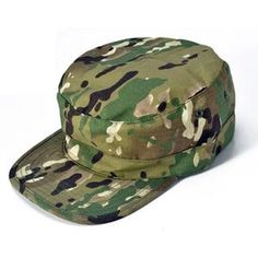 b1994afe512 Camouflage Army Hat Military Tactical Headwear Hiking Hunting Cap Camping  Hat - Black