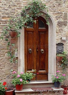 Italian Doors European Photography Wooden Door by ninedragons
