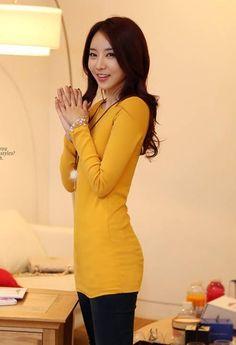 Korean Fashion Long Sleeve Thicker Velvet T-Shirt