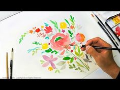 JayLee is a specialized watercolor artist. JayArt videos are showing how to paint creative arts as painting flowers and techniques on tutorials. New series o...