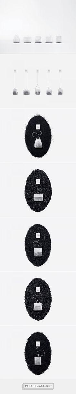 The Teabag Collection design by KOREFE. Kolle Rebbe Form und Entwicklung - http://www.packagingoftheworld.com/2017/03/halssen-lyon-x-ayzit-bostan-teabag.html