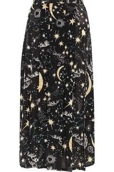 RIXO LONDON Georgia pleated printed silk crepe de chine midi skirt $275 - Product Code: 966884