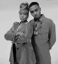Mary J. Blige & Nas... Two of the greats!