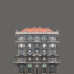 """""""Urban Symmetry"""", a series of minimalist architecture photographs taken by Zsolt Hlinka. With """"Urban Symmetry"""", Hungarian photographer Zsolt Hlinka has Symmetry Photography, Photography Series, World Photography, Photography Awards, Creative Photography, Minimalist Architecture, Architecture Photo, Colour Architecture, Classical Architecture"""