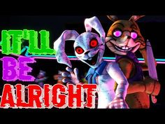 """FNAF Security Breach Song: """"It Will Be Allright"""" by Nightcove _theFox Ft HalaCG Official Music Video - YouTube Fnaf Song, Fnaf Characters, Fictional Characters, Music Videos, Songs, Youtube, Fantasy Characters, Song Books, Youtubers"""