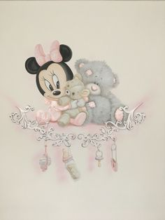 26 Ideas For Baby Room Murals Disney Playrooms Art Drawings For Kids, Disney Drawings, Cute Drawings, Disney Playroom, Disney Rooms, Playroom Ideas, Disney Babys, Baby Disney, Girl Nursery