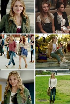 I love Amy and her style and hair. MTV Faking it