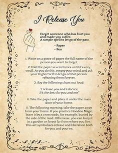 Wiccan Spell to Forget Someone Order your love spells online from Professional Love Spell Caster. Strong Love Spells that work. Magic Spell Book, Witch Spell Book, Witchcraft Spell Books, Halloween Spell Book, Halloween Spells, White Magic Spells, Wiccan Magic, Wiccan Witch, Real Magic Spells