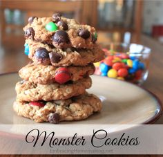 Monster Cookies Recipe - so yummy!!