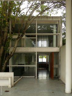 Flickr Chinese Architecture, Futuristic Architecture, Interior Architecture, Interior And Exterior, Le Corbusier, Education Architecture, Deco Design, Brutalist, Building A House