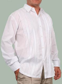 guayabera the mexican wedding shirt what my grandpa will probably wear with