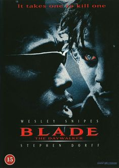 Blade movie poster Fantastic Movie posters #SciFi movie posters #Horror movie posters #Action movie posters #Drama movie posters #Fantasy movie posters #Animation movie Posters
