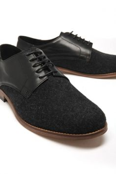 H by Hudson - Men's Wesson Dress Shoe (Black)