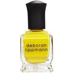 Deborah Lippmann Nail Lacquer, Walking On Sunshine found on Polyvore