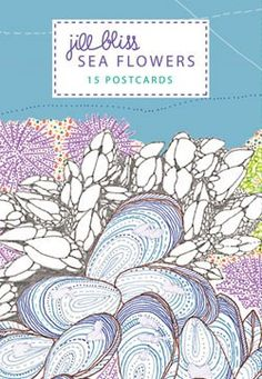 #DearMom I got my travelling spirit from you, but whenever I travel, I never send you postcards because I don't go in gift shops.  I would love to take these Sea Flowers postcards from @Chronicle Books with me when I travel so I can stay in touch.  Everything about the sea reminds me of you, so even if I'm far inland, it'll still work!