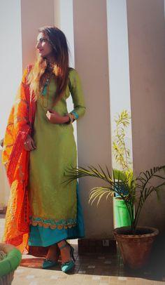 #plazzo #suit #punjaban #orange #skyblue # green #mutiyar #rapazarage #punjabiattire #outfit #traditional #photography #girl #womenoutfit