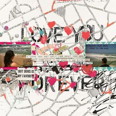 "Love You Forever by Rubia Padilha using ""One Page Thing Template #1"""